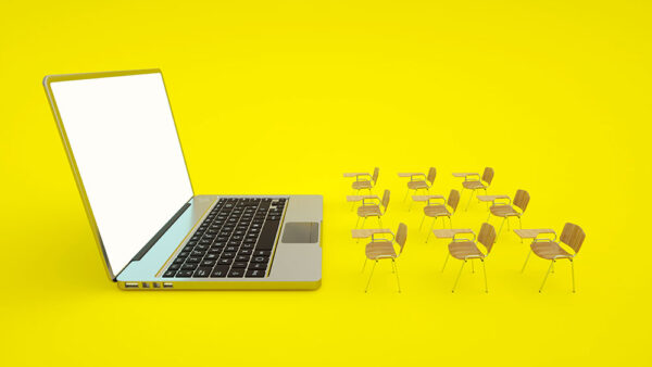 e-learning-online-education-concept-school-desks-and-laptop-home-quarantine-distance-learning